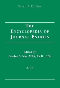 The Encyclopedia of Journal Entries book - AIPB