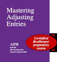 Mastering Adjusting Entries book - AIPB